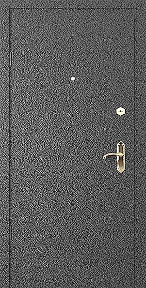 порошковое напыление на металлической двери