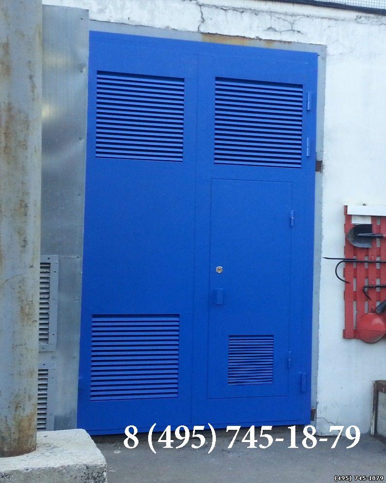 дверь металлическая противопожарная для электрощитовой