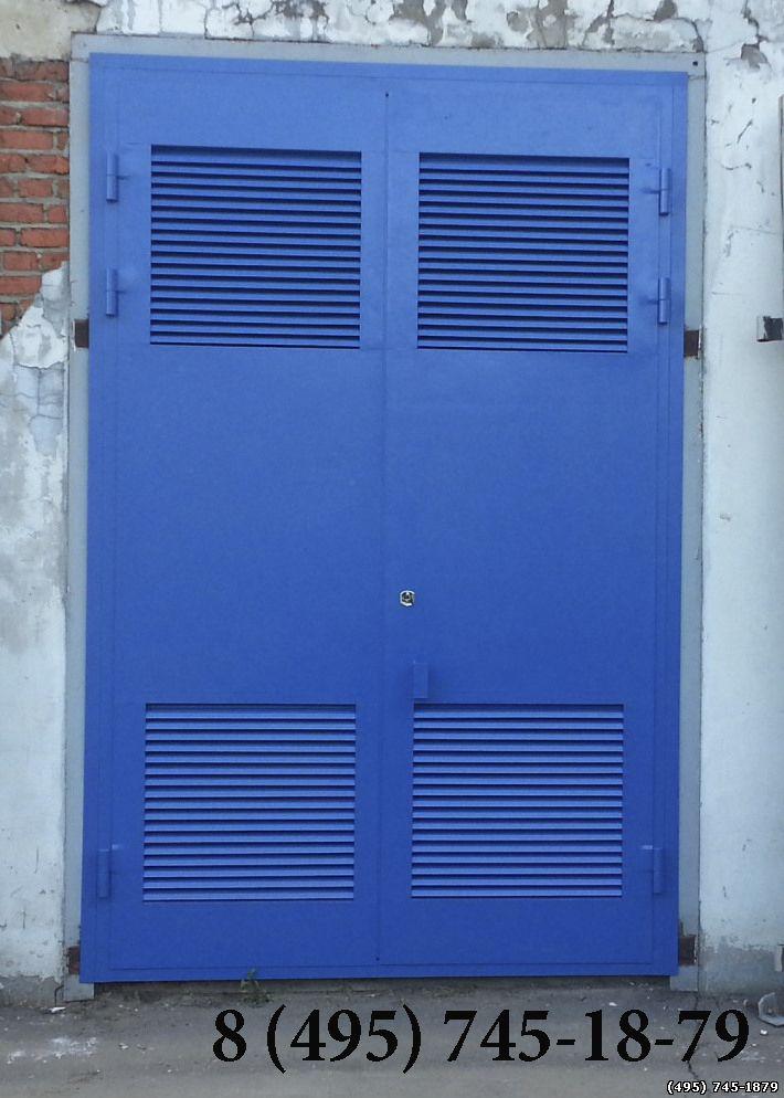 входные двери ворота трансформаторной подстанции